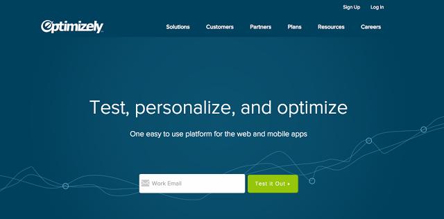 Nástroj na optimalizáciu Landing Pages - Optimizely . Truniversity